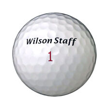 New Wilson Staff Duo White Loose Golf Balls SOFTEST ON THE MARKET - 1 Dozen
