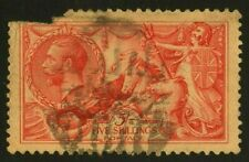 =WOW= GREAT BRITAIN #180, USED *SPACE FILLER* CV $115.00 BRITANNIA HORSE