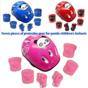 7tlg Kinderhelm Skateboard Skaterhelm Fahrrad Helm Knie Kinder Schutzausrüstung