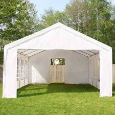 Partyzelt Festzelt Pavillon PE 4x8m 8x4m Gartenzelt Zelt Vereinszelt Bierzelt
