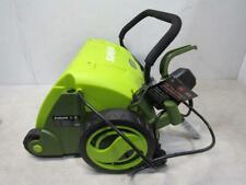 New listing SunJoe Electric Scarifier And Dethatcher Green Aj801E
