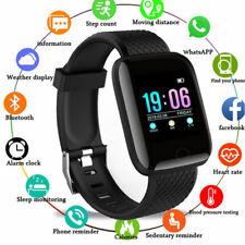 Wireless Smart Band Watch Heart Rate Oxygen Blood Pressure Fitness Bracelet