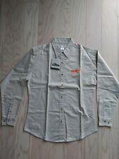 New Schneider National Logo Women's Button Down Long Sleeve Shirt. Us S
