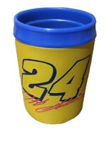 VTG Jeff Gordon #24 Insulated Cup Yellow Blue 10 oz 1997 JG Motorsports Inc