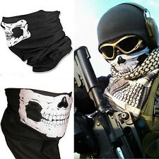 Skull Face Shield Mask Bandanas Skeleton Ski Motorcycle Paintball Scarf Pretend