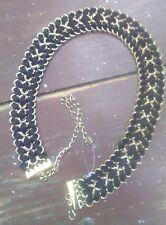 NEW ZARA Chain Belt in Black and Gold