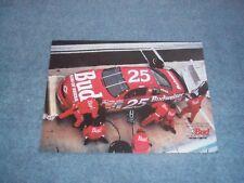 1995 Budweiser Beer Vintage Ad with Ken Schrader's #25 Chevy Monte Carlo NASCAR
