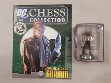 Eaglemoss DC Chess Collection Issue 10 Commissioner Gordon Boxed