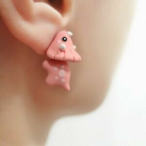1pair Cute Animal Bite Earring Cartoon Animal Earrings Tyrannosaurus Earrings