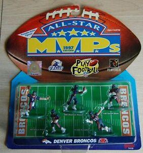 1997 Denver Broncos 5-figure MVP set Elway+TD+Atwater+Romanowski+Shannon Sharpe
