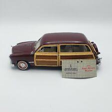 Franklin Mint 1:24 1949 Ford Woody Wagon Die Cast Replica Car Model