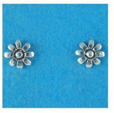Strling Silver 925 Flower Design Ear Studs