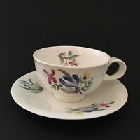 Hallcraft Eva Zeisel Bouquet Cup & Saucer