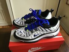Nike Air Max 98 Black Racer US10 44  white Volt