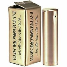 EMPORIO ARMANI 100ml She Elle Women's Gold Perfume EDP New Boxed Sealed (F2E)