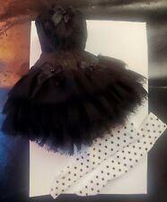 Blythe clothing lot, ballerina, black Swan, Corsett, Tutu, tights, designer