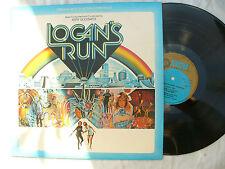 LOGAN'S RUN LP JERRY GOLDSMITH mgm 2315 376.....N/M..... 33 rpm / soundtrack