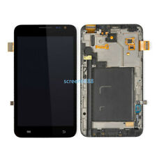 For Samsung Galaxy Note 1 N7000 I9220 Amoled LCD Display Touchscreen+Frame Black