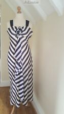 Jacques Vert Dress  ~Size 14  Purple & Ivory Wedding Mother Of The Bride Groom