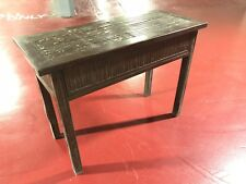 Ornate Side Table Console - Solid Timber