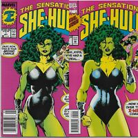 THE SENSATIONAL SHE-HULK NM #1 and #60. LOT OF 2 COMICS. FIRST AND FINAL ISSUE!