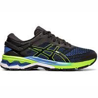 ASICS GEL-Kayano 26 4E [1011A536-003] Men Running Shoes Extra Wide Black/Blue