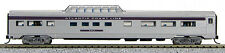 N Budd Passenger Mid-Train Dome Car Atlantic Coast Line(Silver/Purple)(1-041357)