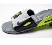 Size 7 Nike Air Max 90 Slide Black BQ4635 001 Sandal Black Grey Cushioned NEW