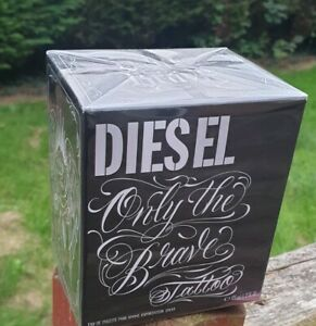 Diesel Only the Brave Tattoo Eau de Toilette 125ml EDT Spray Authentic New Boxed