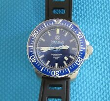 New Deep Blue Daynight Diver T-100 Automatic SS Mens Watch Tritium Tubes