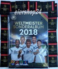 Rewe WELTERMEISTER SONDERALBUM/ SAMMELALBUM 2018 + 5 Sammelkarten Fussball WM