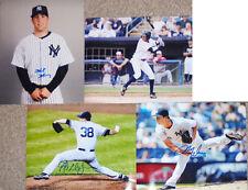 -New York Yankees- Autograph/Hand-Signed Baseball Stars 8x10 Photo Lot w/LOA