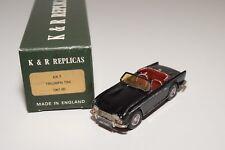 C K&R REPLICARS KR7 TRIUMPH TR4 1961-65 BLACK N MINT BOXED HANDBUILD KIT