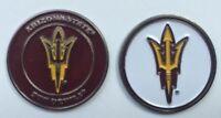 NEW NCAA Arizona State ASU Sun Devils Golf Ball Marker