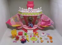 MY LITTLE PONY RARE PLAYSET WITH PONY AND LOT OF ACCESSORIES BIRTHDAY XMAS GIFT