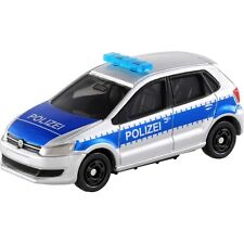Takara Tomy Tomica No.109 VW Volkswagen Polo Europe Patrol Car 1 : 62 (Box)