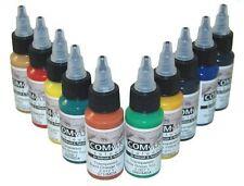Medea Iwata Kit F COM-ART 10 colori aerografo trasparenti 28 ml (KITF)