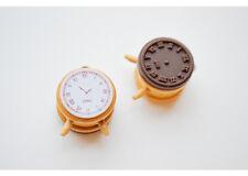 Stempel mit Uhr-Motiv, ideal für Tagesplanung, Kalender, Bastel o. Deko, Ø 3,2cm