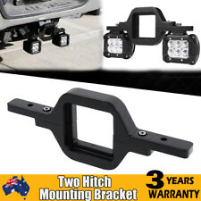 Tow Hitch Light Mounting Bracket for Dual LED Backup Reverse Light Offroad 4x4WD