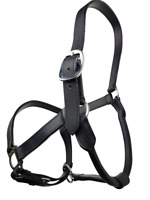 RUMANI High Quality Horse Leather HALTER With Rolled Throat And Strong Iron HW