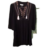 Isabel Marant Etoile boho tunic dress CLARA designer embroidered beachy hippie