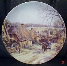 Wedgwood Collectors Plate BROAD CAMPDEN From THE CHARM OF AN ENGLISH VILLAGE