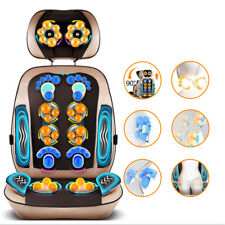 Auto Chinese Massage Chair / Cushion Neck Back Vibrating  Massager Body Relax