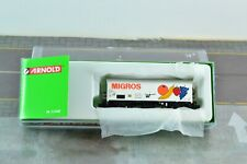 Arnold HN1003-6 SBB CFF Reefer MIGROS Rolling Stock N Scale