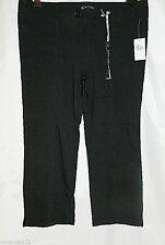 Buffalo David Bitton Pants Cropped Capri Black Stretch Capris size 29