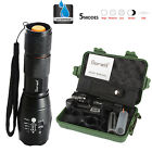 8000lm X800 Flashlight CREE XM-L T6 LED Zoom Military Torch ShadowHawk + Battery