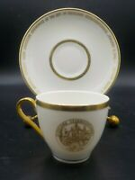 Demitasse Tea Cup Saucer Army Air Force Cleveland Ohio Sesquicentennial 1946