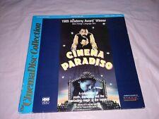 Cinema Paradiso (1988) Laserdisc Ld [Id7387Hb] Cinemadisc