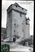EVAUX-les-BAINS (23) CHATEAU de LIGONDES animé en 1907