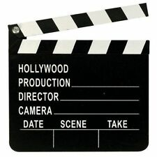 CLAPPER BOARD HOLLYWOOD FILM DIRECTORS MOVIES FANCY DRESS PROP SCHOOL PLAY